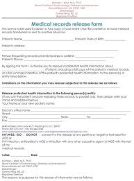 Hipaa Request Form Samples Of Medical Records Release Authorization Forms Request Form