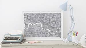 11 hand drawn maps to adorn any london lover s wall now view 2 of