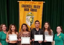 Scholarship Winners - Coachella Valley High School Alumni Association