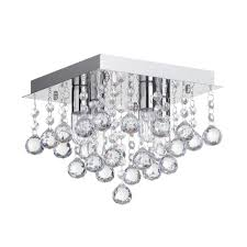 square bathroom ceiling light. Square Bathroom Flush Ceiling Light - Chrome FAST\u0026FREE DELIVERY * U