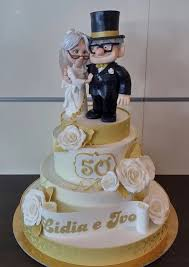 Fabulous Disney Up 50th Wedding Anniversary Cake Between The Pages