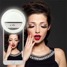 Iphone Light When Phone Rings Universal Led Photography Flash Light Up Selfie Luminous