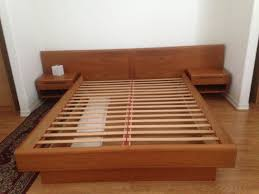 Bed Frame Design Furniture Great Mid Century Bed Frame Designs Custom Decor