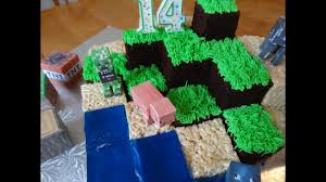 How To Make A Minecraft Cake With Yoyomax12 Youtube