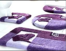 reversible cotton bath rugs bathroom brown mat with latex backing ru