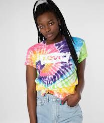 Levi's® Tie Dye T-Shirt - Women's T-Shirts in Tie Dye | Buckle