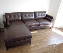 leather sofa with chaise. Simple Leather On Leather Sofa With Chaise A