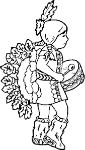 Indian Coloring Pages Printables Indian Coloring Pages Printables