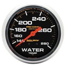 auto meter 6601 pro comp air core pedestal tachometer 10k rpm 3 3 4 auto meter 5431 pro comp mechanical water temperature gauge