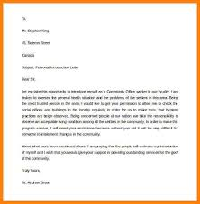 personal introduction letter personal letter of introduction template free printable