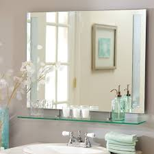 bathroom mirror mounting brackets. Furniture: Affordable Frameless Wall Mirror Ikea Also Pivoting Mounting Brackets From 5 Bathroom
