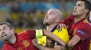 Schweden stoppt spanien mit einer soliden abwehrleistung. Ad5jlxbxla9z9m