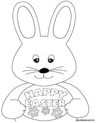 Easter Coloring Pages To Print Out Colouring Sheet Print This Out To