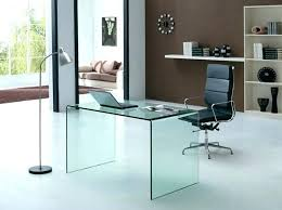contemporary desks for office. Frosted Glass Office Desk Small Home Desks Chic On Decoration . Contemporary For E