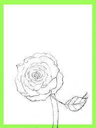 Easy To Draw Roses How To Draw Roses
