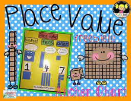 Place Value Chart For 1st Grade Place Value Anchor Chart Freebie