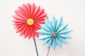 Paper Flower Craft Ideas Accordion Paper Flowers Kids Crafts Fun Craft Ideas
