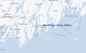 Boothbay Harbor Tide Chart Map Of Boothbay Harbor Maine Map Nhautoservice