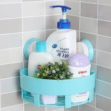 Plastic Corner Shower Shelves MyLifeUNIT Waterproof Suction Cup Corner Shower Caddy Shower 100