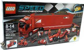 Make sure this fits by entering your model number. Lego Speed Champions F14 T Scuderia Ferrari Truck Set 75913 Damaged Package Toywiz