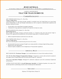 8 Commercial Truck Driver Resume Sample Driver Resume