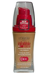 l oreal paris infallible makeup advanced never fail make up 18hr 605 source share this