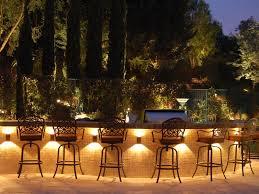 modern outdoor lighting bar
