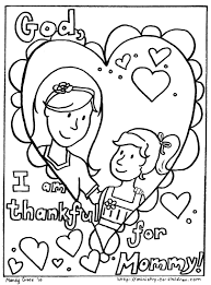 Small Picture Printable Mothers Day Coloring Pages With Mother diaetme