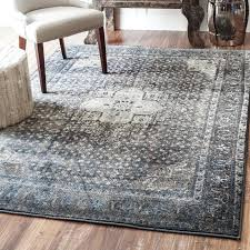 blue and gray area rug blue grey silver area rug andover mills anzell blue gray area