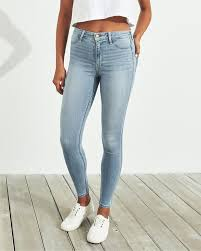 Hollister Advanced Stretch High Rise Jean Cheapest Womens