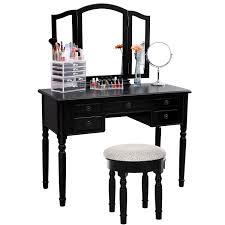 makeup vanity table without mirror bedroom vanity mirror black vanity table