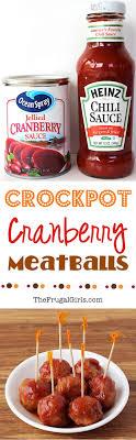 crockpot cranberry meat recipe