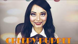 creepy puppet dead silence makeup tutorial laura sanchez makeup
