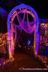 Strobe Light Halloween Ideas Halloween Outdoor Lighting Ideas 18 Spooky Ways To Light