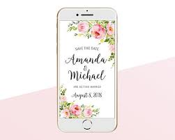 Electronic Save The Date Sms Message Iphone E Card In 2019