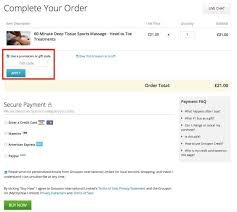 groupon gift voucher code coupon redemption
