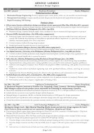 Electrical Design Engineer Sample Resume 9 Example Engineering