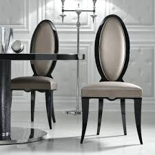 oval back dining chair. Oval Dining Furniture Back Chair Toast Chairs Italian Designer Black U