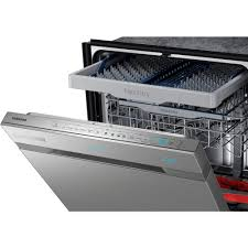 How To Clean The Inside Of A Stainless Steel Dishwasher Samsung Chef Collection Top Control Dishwasher In Stainless Steel