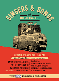 americana festival off the books and off the hook steve poltz at 4pm jason walsmith of the nadas at 3 40 julie christensen with sergio webb at 3 20
