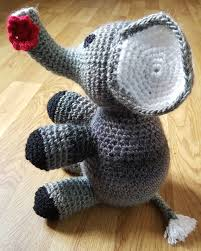 Crochet Stuffed Elephant Pattern New Design Ideas