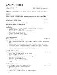 Student Resumes Examples Enchanting Nurse Practitioner Resume Template Nurse Practitioner Student Resume