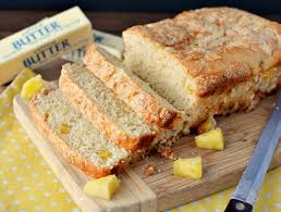 3 ing quick pineapple bread