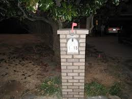 mailbox designs. Image Of: Do It Yourself Brick Mailbox 5 Steps Pertaining To Designs How