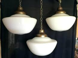 milk glass pendant light regardg amazg uk