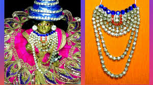 Laddu Gopal Jewellery Designs Easily Make Heavy Work Jarkan Mala Haar Necklace Chokar For