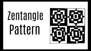 Zentangle Pattern Ideas Simple Zentangle Pattern Ideas For Beginners48nd YouTube