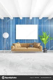 Loft Slaapkamer In Moderne Stijl Interieur Met Eclectische Muur En