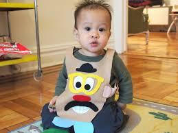diy mr potato head baby costume