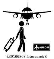 空港 アイコン クリップアート K15233587 Fotosearch
